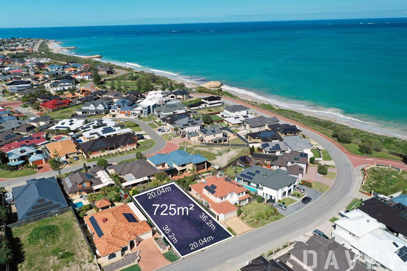 Main view of Homely residentialLand listing, 268 Ocean Drive, Quinns Rocks WA 6030