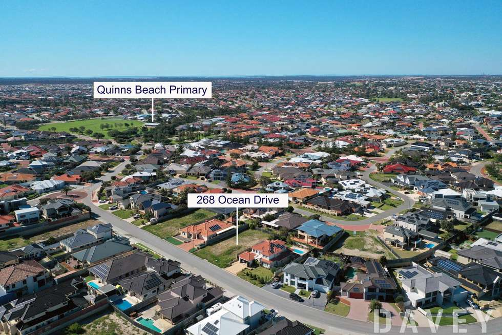 Second view of Homely residentialLand listing, 268 Ocean Drive, Quinns Rocks WA 6030