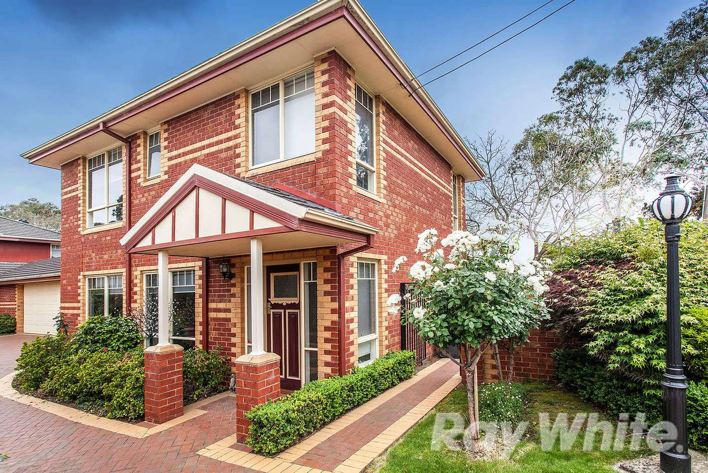 Main view of Homely townhouse listing, 1/27 White Road, Wantirna South, VIC 3152