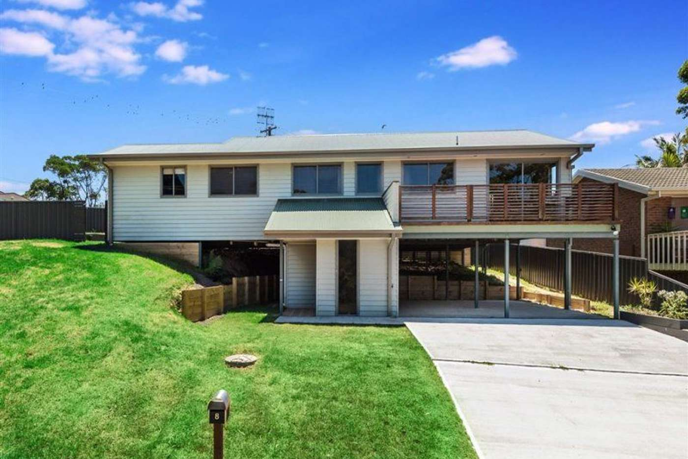 Main view of Homely house listing, 8 Weymouth Road, Lake Tabourie NSW 2539
