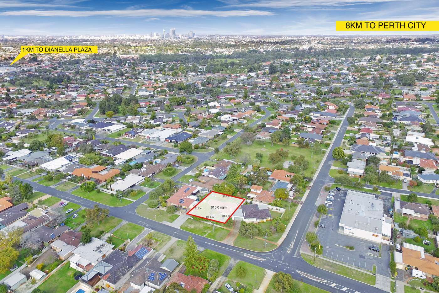 Second view of Homely residentialLand listing, 487 The Strand, Dianella WA 6059