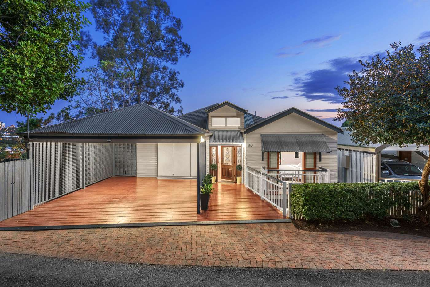 Main view of Homely house listing, 90 Willmington Street, Newmarket QLD 4051
