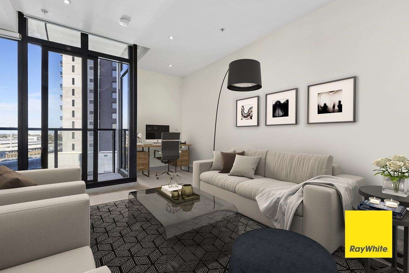 Main view of Homely apartment listing, 909/283 City Road, Southbank, VIC 3006