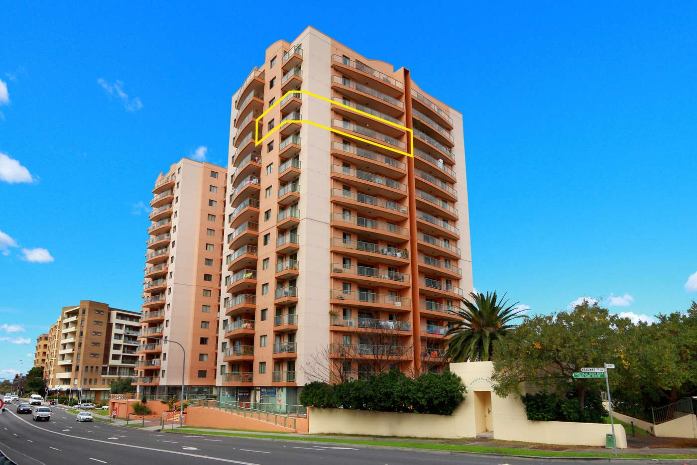 Main view of Homely apartment listing, 1601/600 Railway Parade, Hurstville NSW 2220