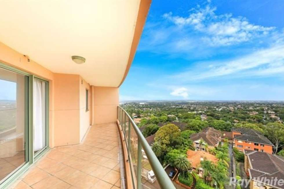 Second view of Homely apartment listing, 1601/600 Railway Parade, Hurstville NSW 2220