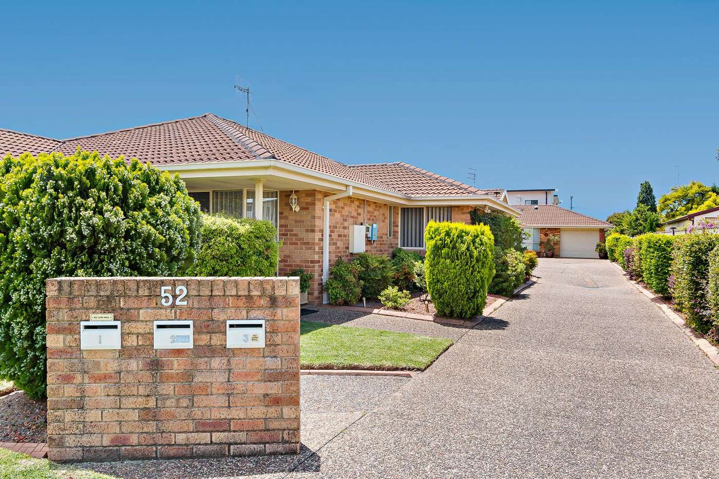Main view of Homely villa listing, 3/52 Albert Street, Warners Bay, NSW 2282
