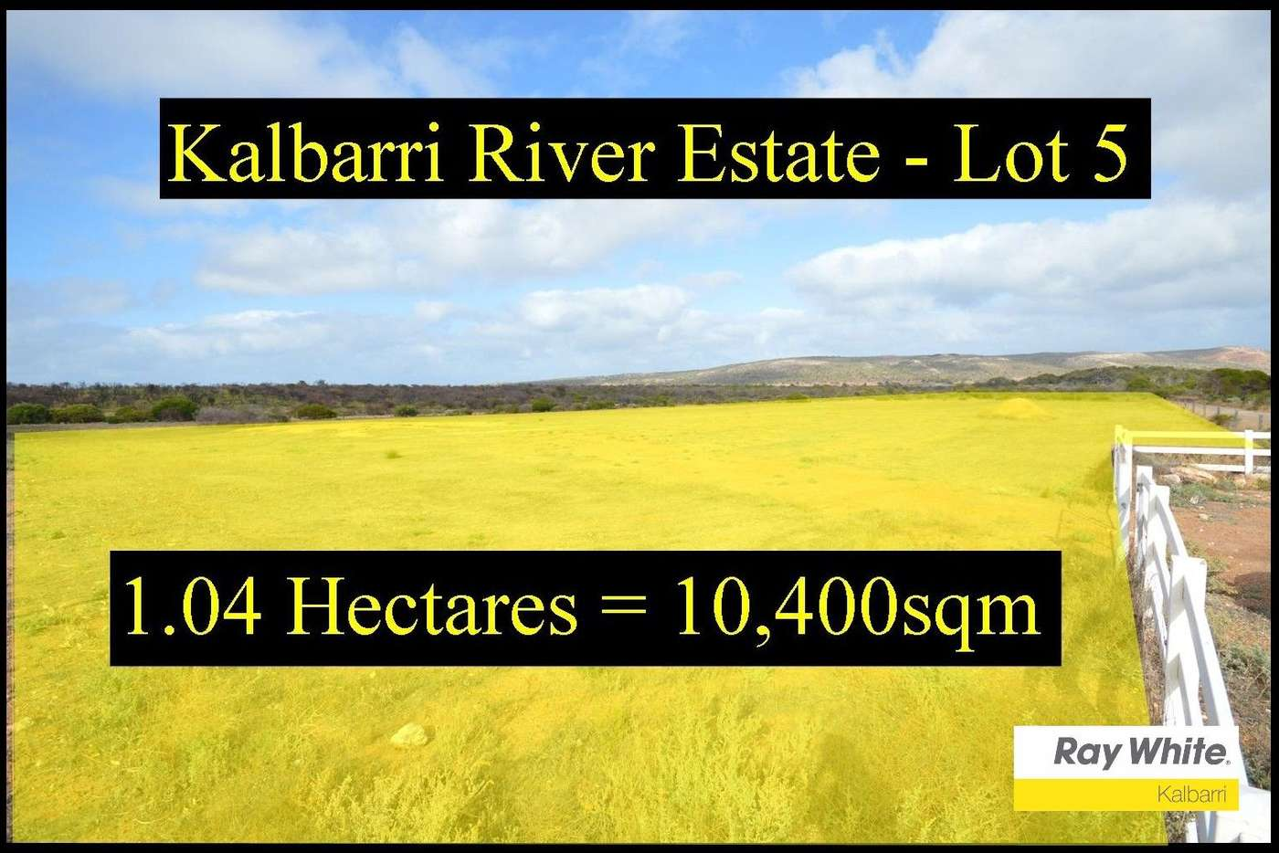 Main view of Homely residentialLand listing, 13 Lot 5 Ranch Court, Kalbarri WA 6536