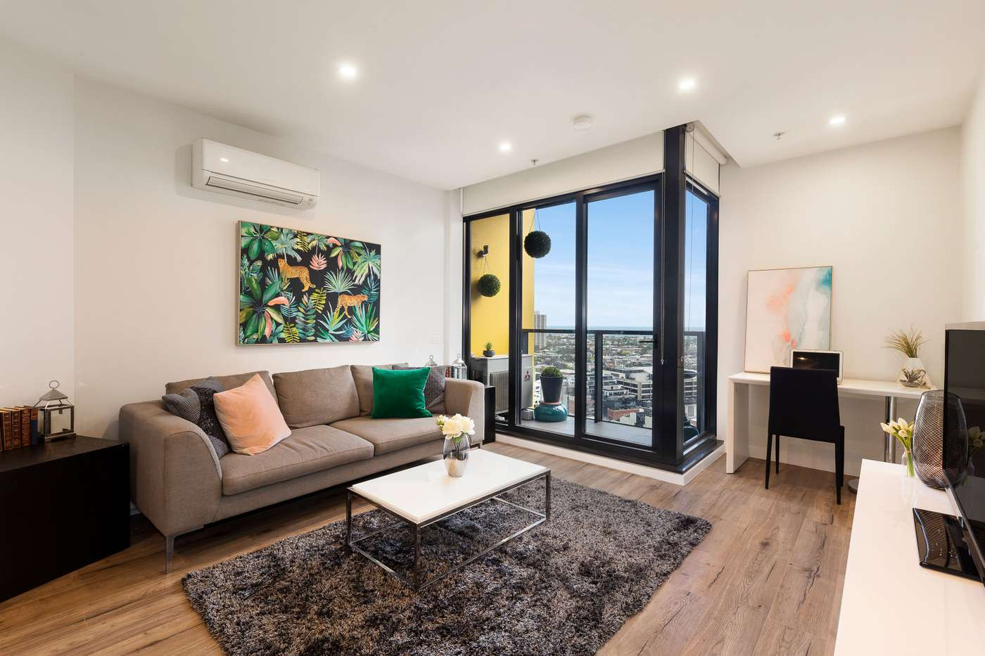 Main view of Homely apartment listing, 2510/283 City Road, Southbank, VIC 3006