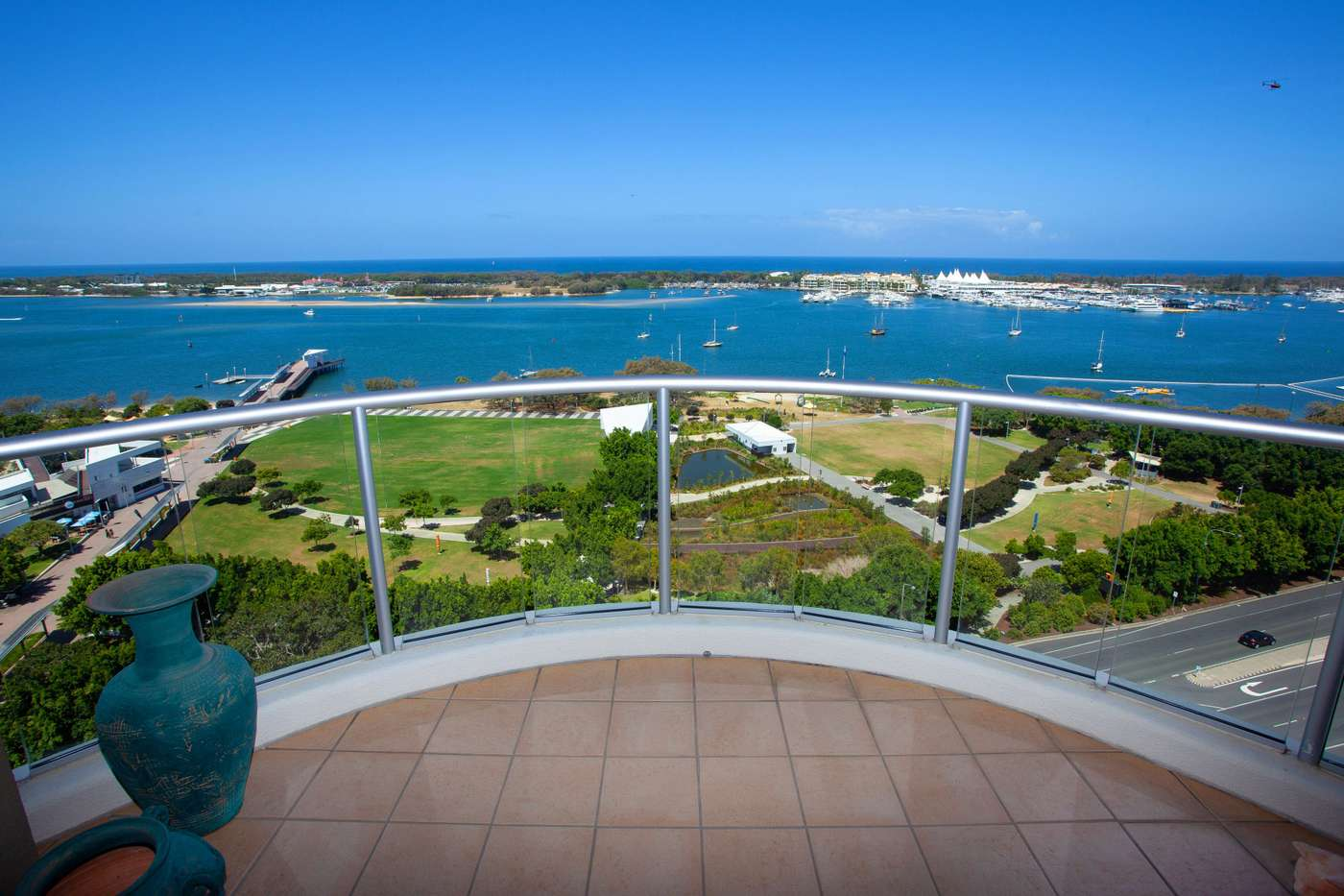 Main view of Homely apartment listing, 1401/50 'Pivotal Point', Marine Parade, Southport, QLD 4215