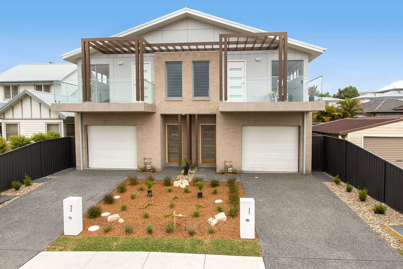 Main view of Homely townhouse listing, 1-2 30 Fleet Street, New Lambton NSW 2305