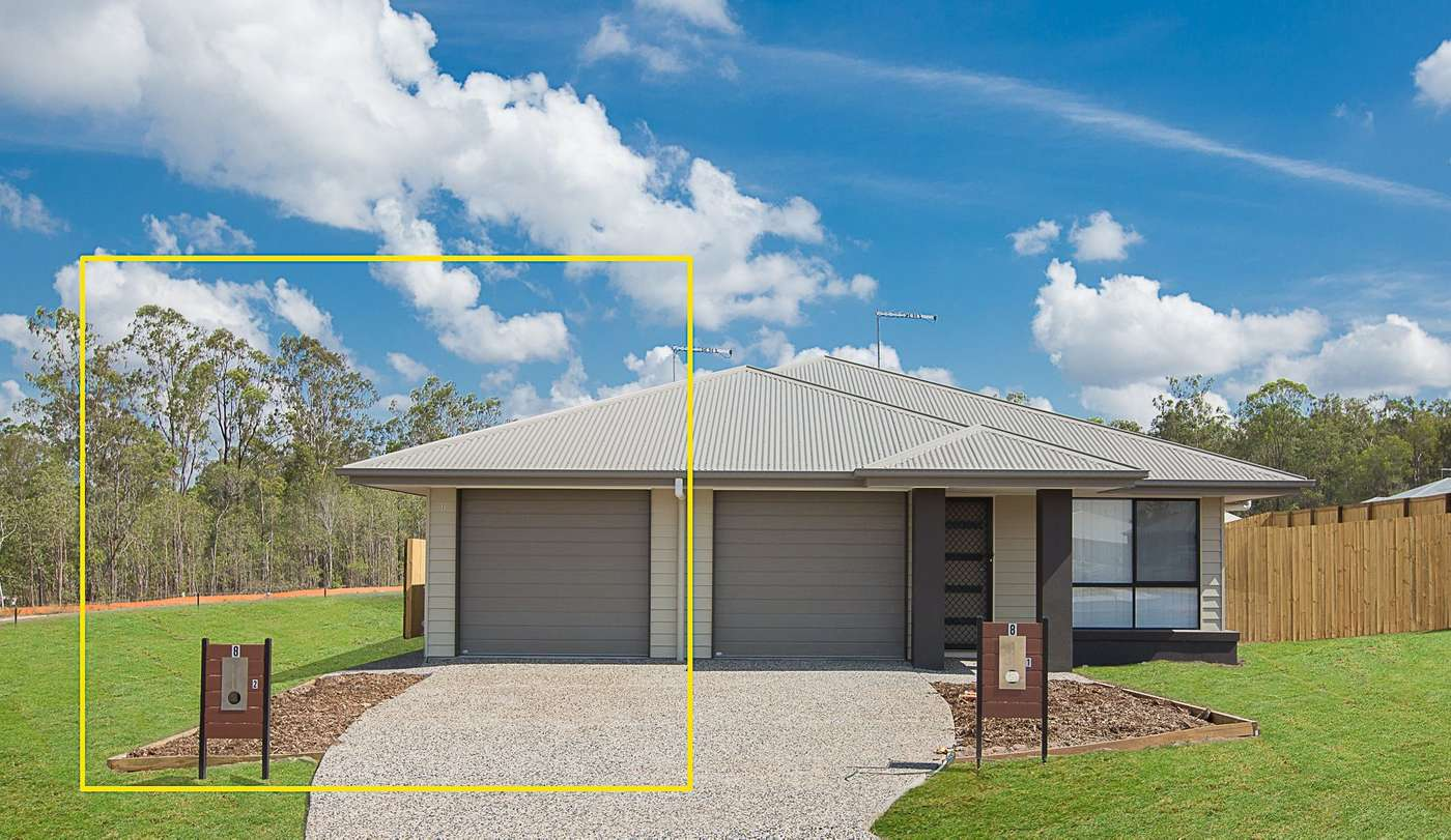 Main view of Homely house listing, 2/8 Rogers Street, Brassall, QLD 4305