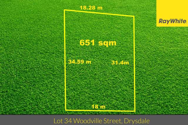 Lot 34 Woodville Street, Drysdale VIC 3222