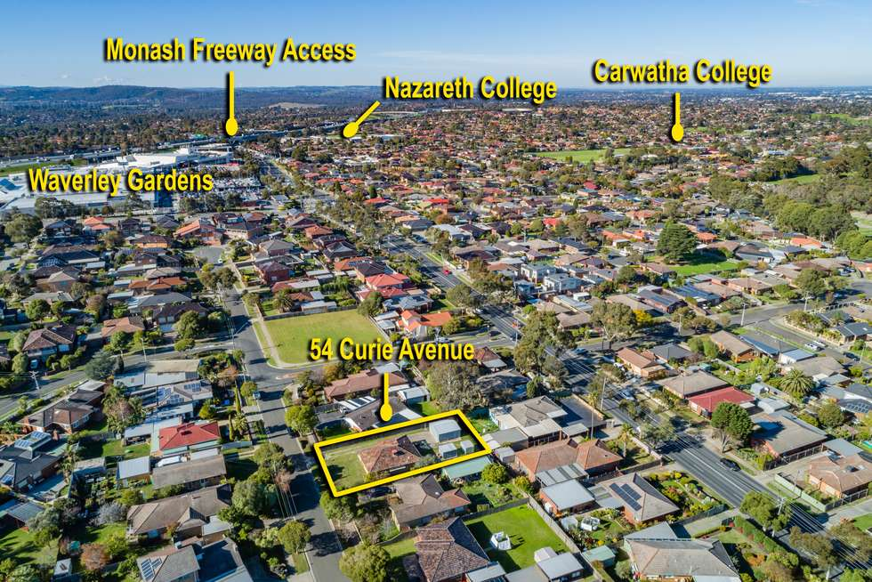 Second view of Homely house listing, 54 Curie Avenue, Mulgrave VIC 3170