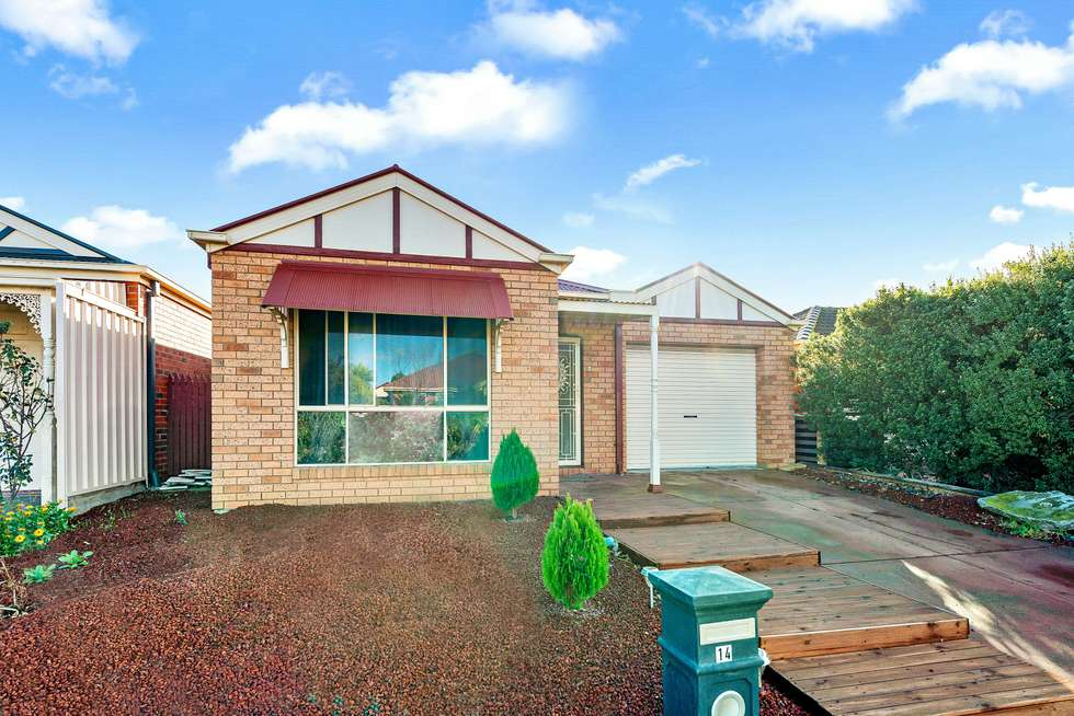 Second view of Homely house listing, 14 Hinchinbrook Close, Caroline Springs VIC 3023