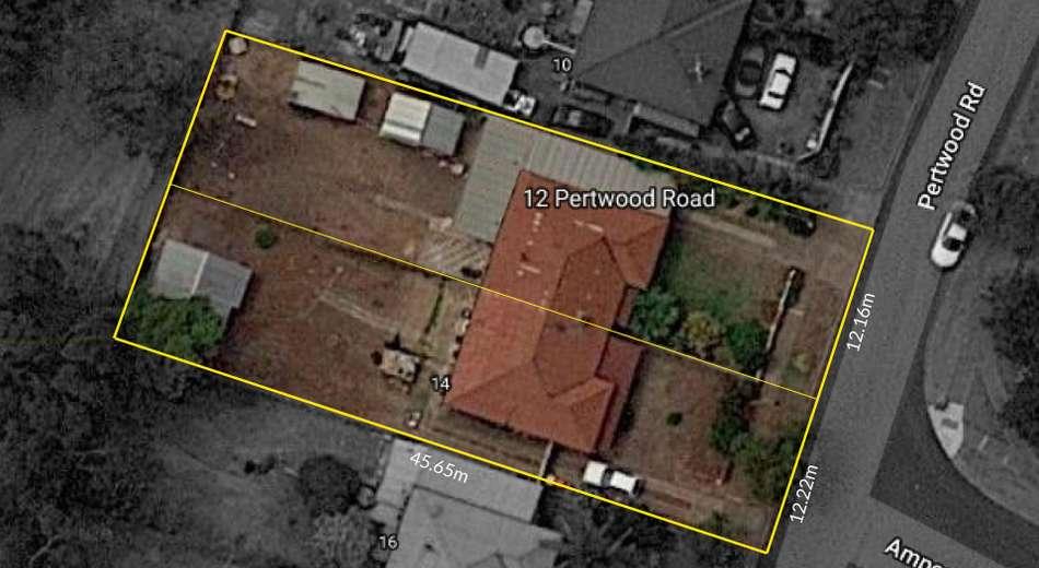 12 & 14 Pertwood Road