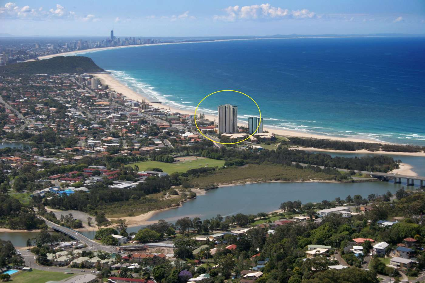 Main view of Homely unit listing, 3E/973 Gold Coast Highway, Palm Beach, QLD 4221