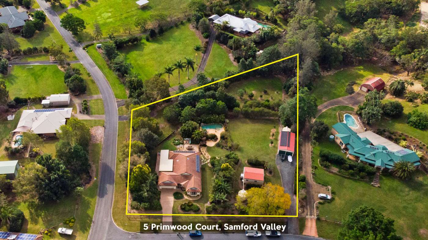 Main view of Homely house listing, 5 Primwood Court, Samford Valley, QLD 4520