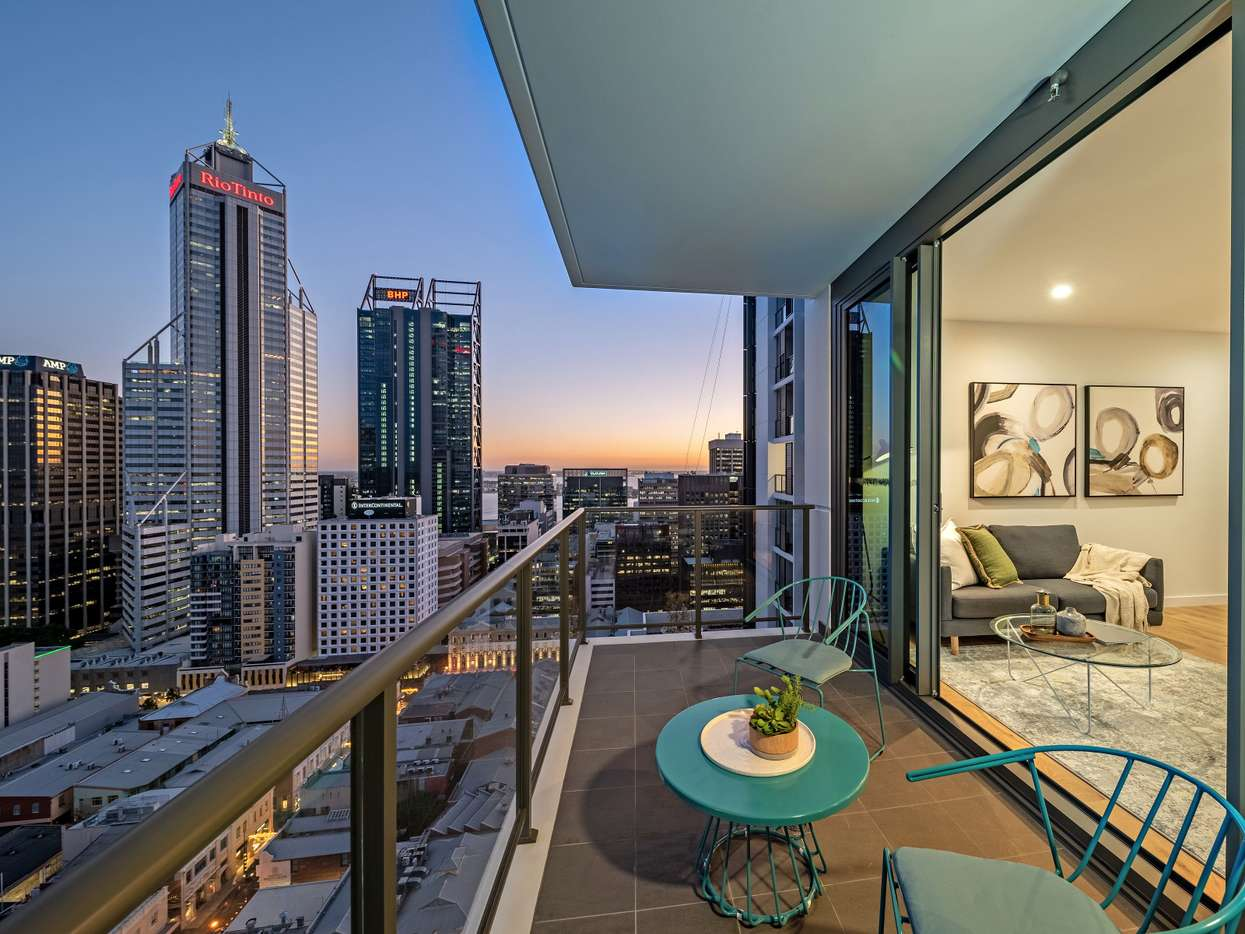Main view of Homely apartment listing, 1511/380 Murray Street, Perth, WA 6000
