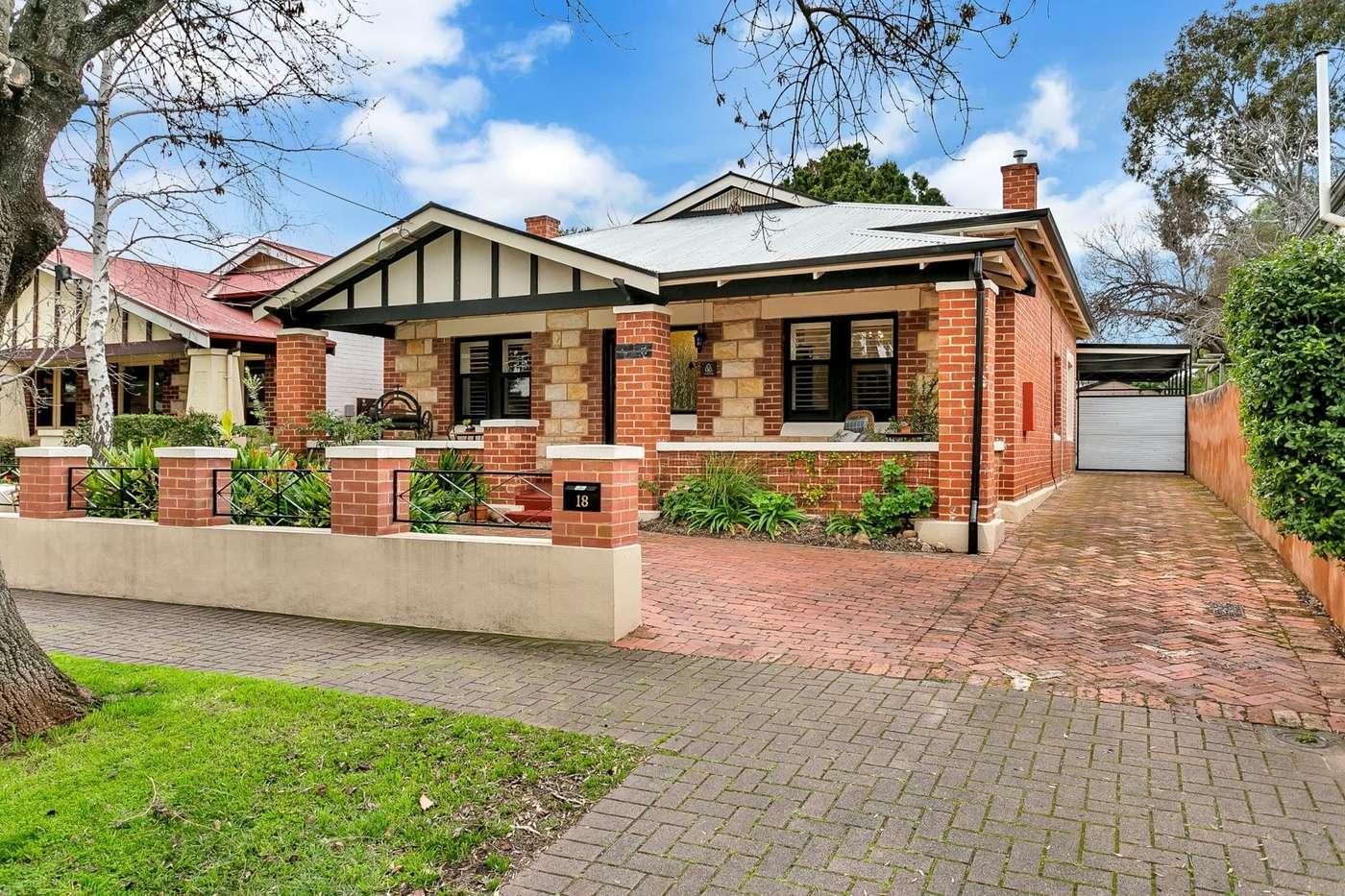 Main view of Homely house listing, 18 Howard Terrace, Hazelwood Park, SA 5066