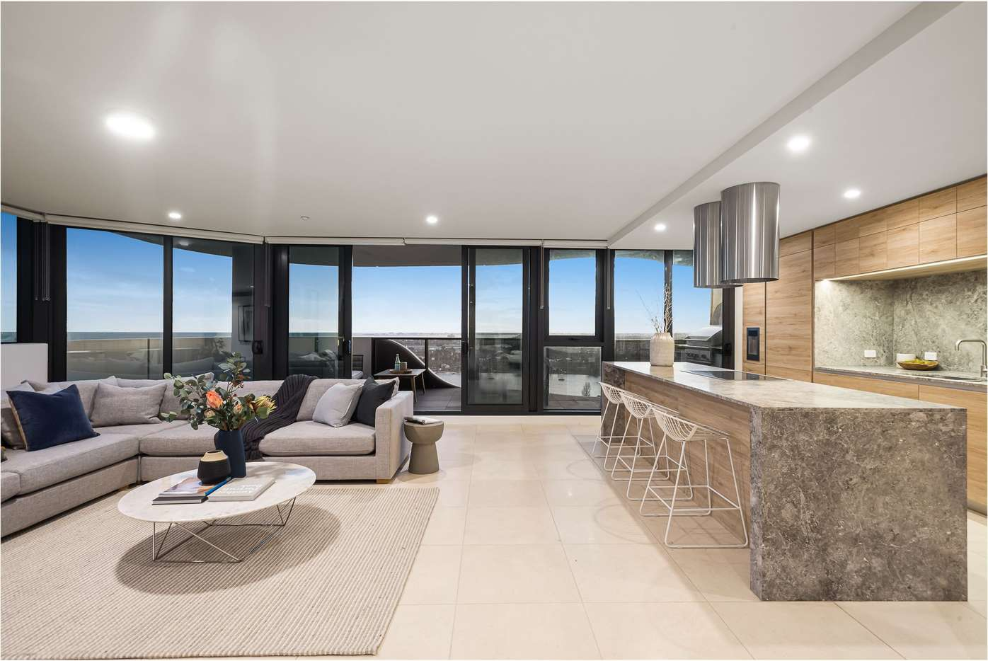 Main view of Homely apartment listing, Penthouse/12 Queens Road, Melbourne, VIC 3000