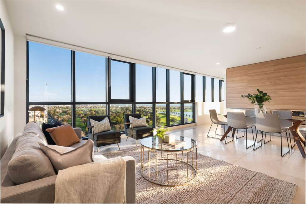 Second view of Homely apartment listing, Penthouse/12 Queens Road, Melbourne VIC 3000