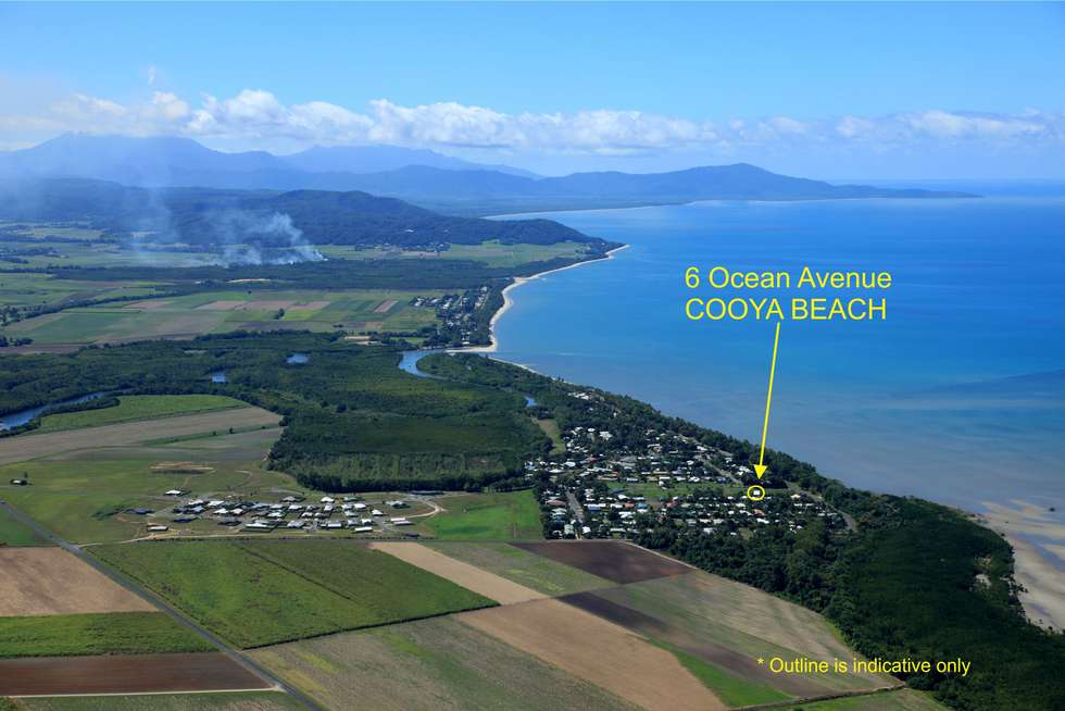 Second view of Homely residentialLand listing, 6 Ocean Avenue, Cooya Beach QLD 4873