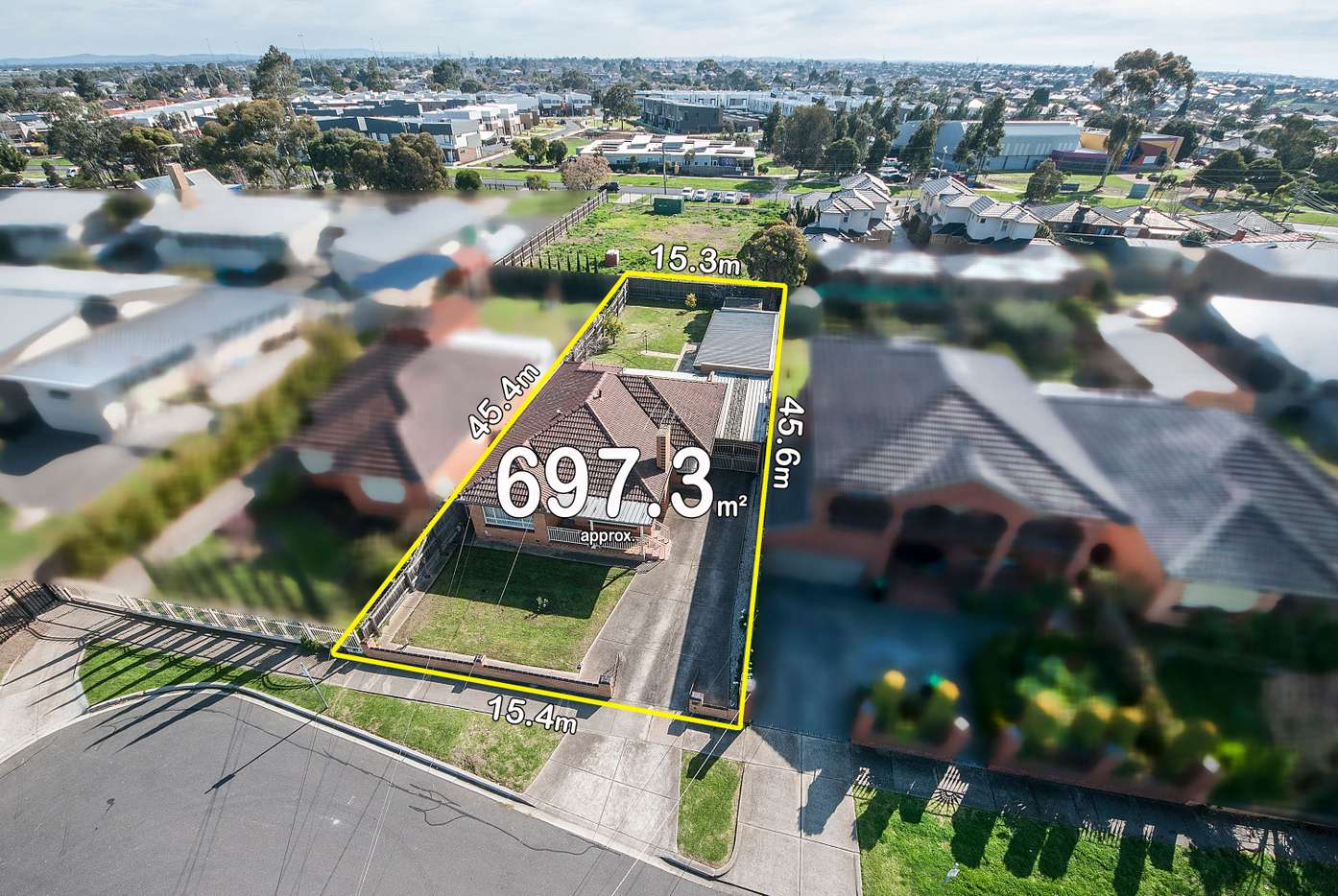 Main view of Homely house listing, 6 Robson Avenue, Avondale Heights, VIC 3034