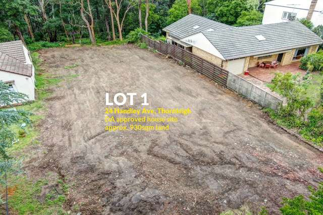 Lot 1, 24 - 26 Handley Avenue, Thornleigh NSW 2120