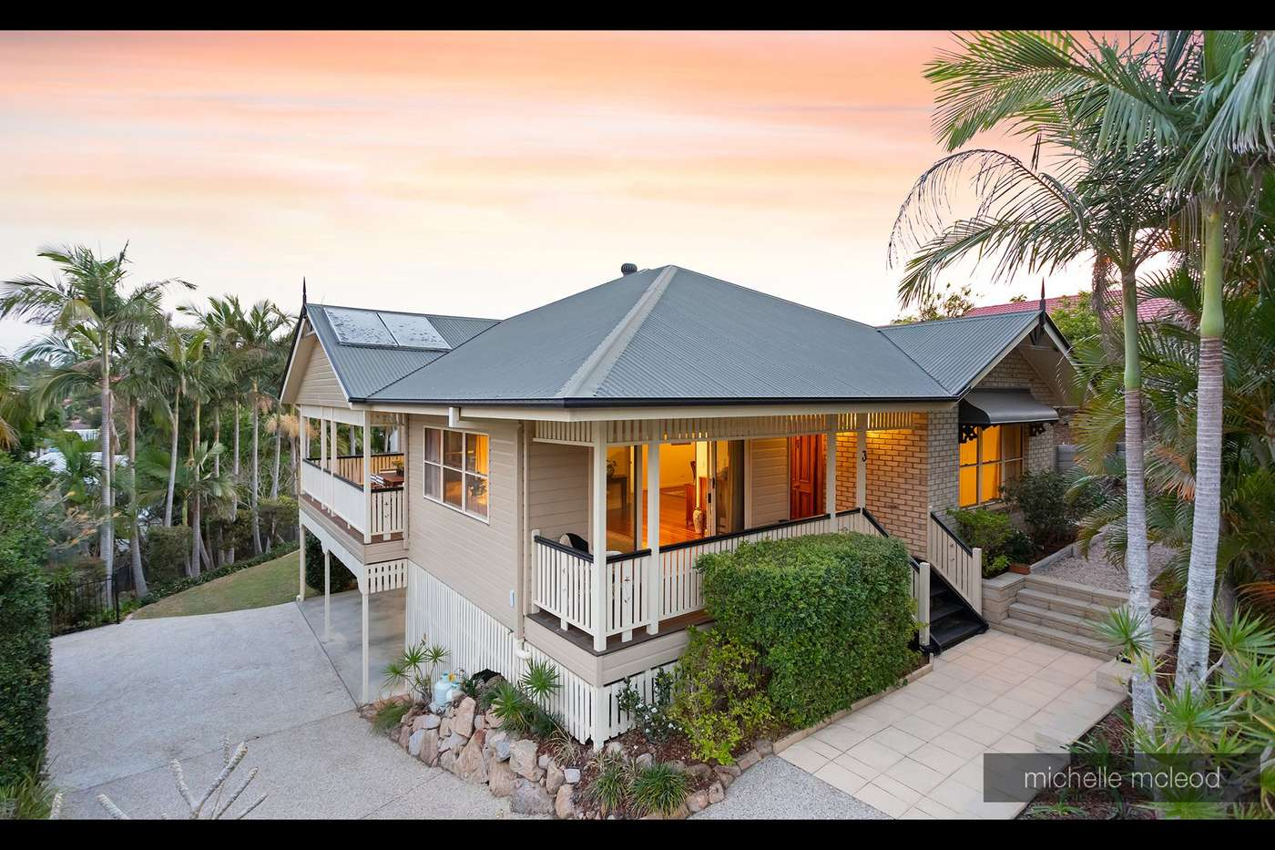 Main view of Homely house listing, 3 Ngeringa Crescent, Chapel Hill, QLD 4069