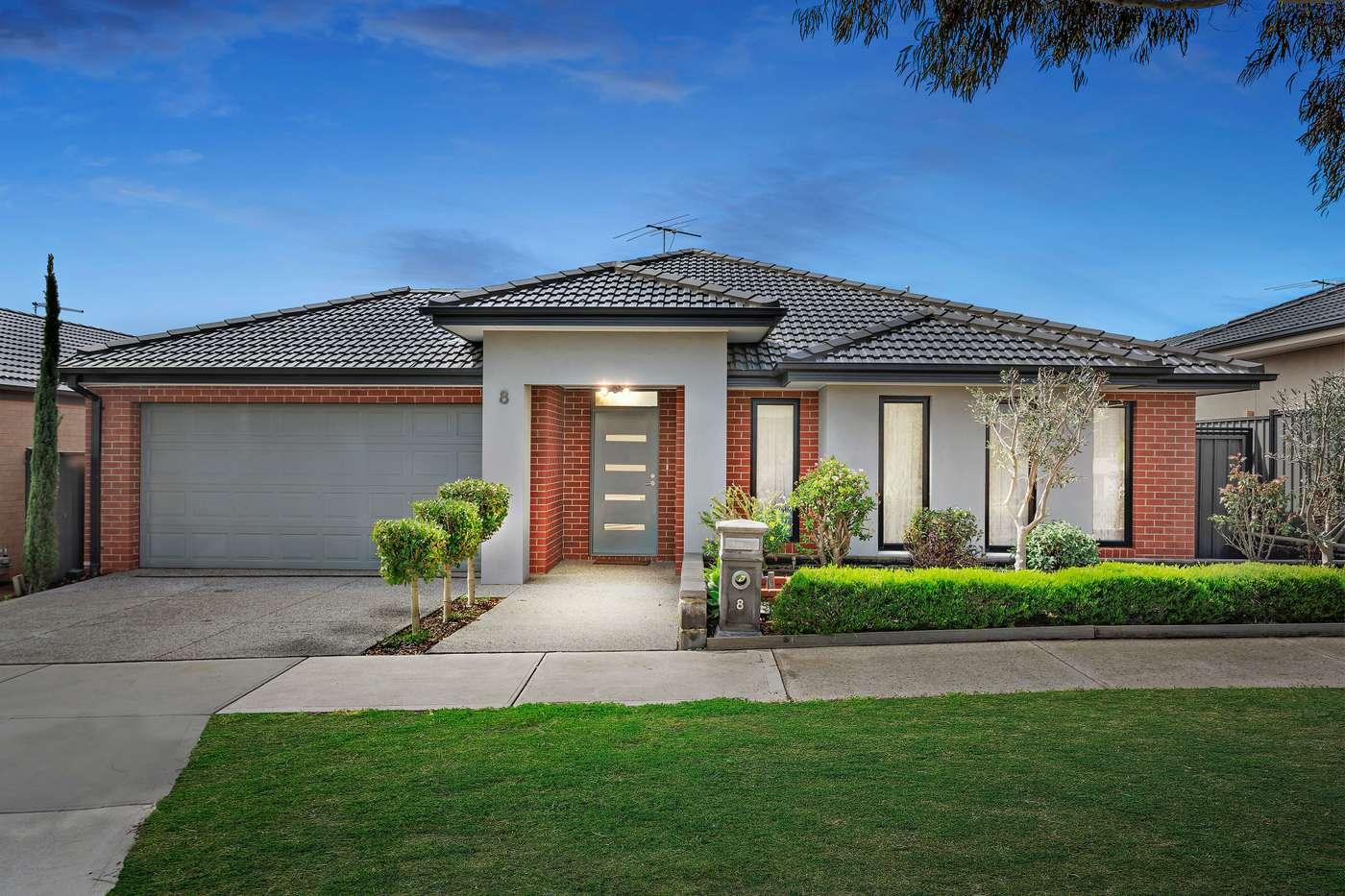 Main view of Homely house listing, 8 Hodgson Rise, Mernda, VIC 3754