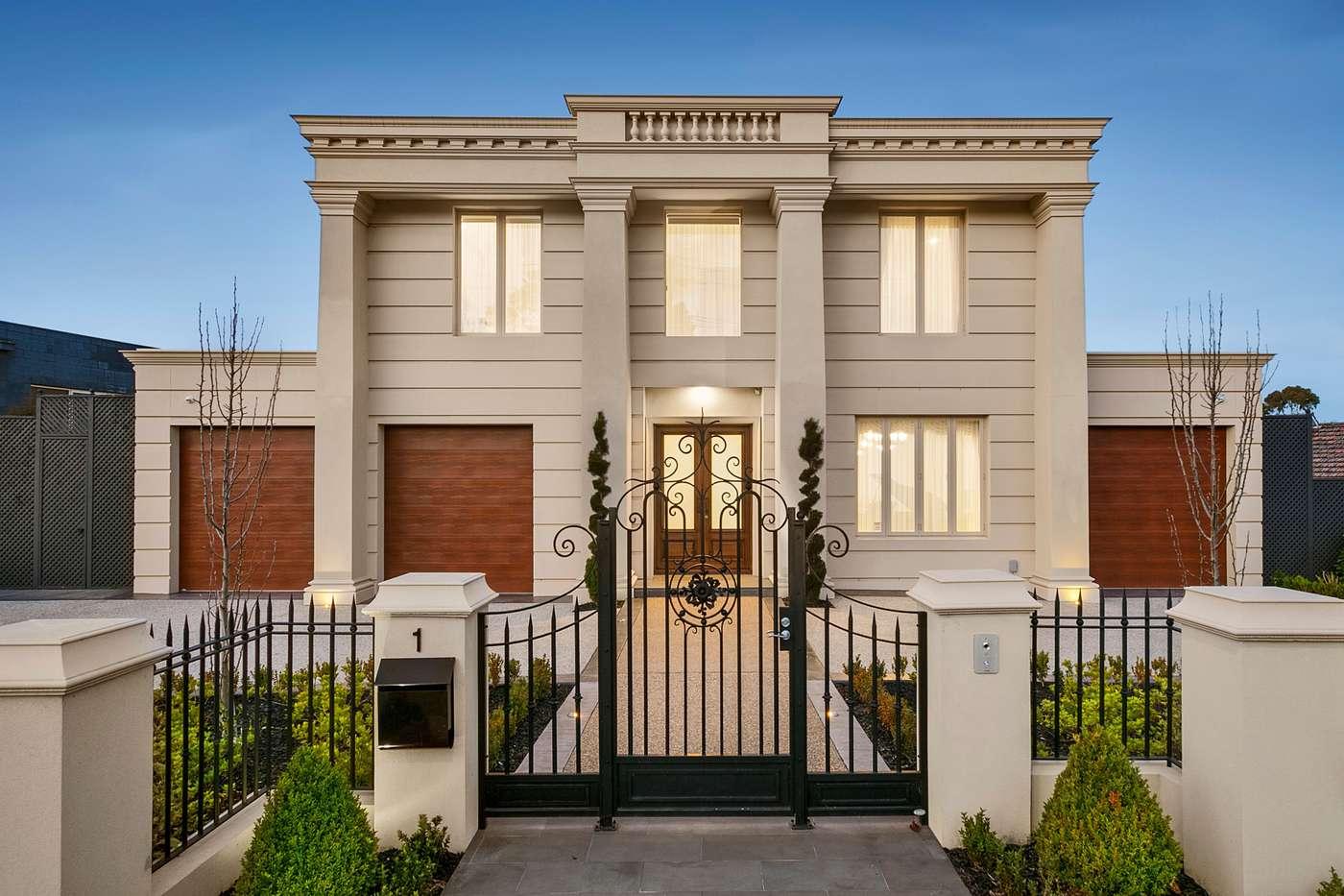 Main view of Homely house listing, 1 Harrington Avenue, Balwyn North, VIC 3104