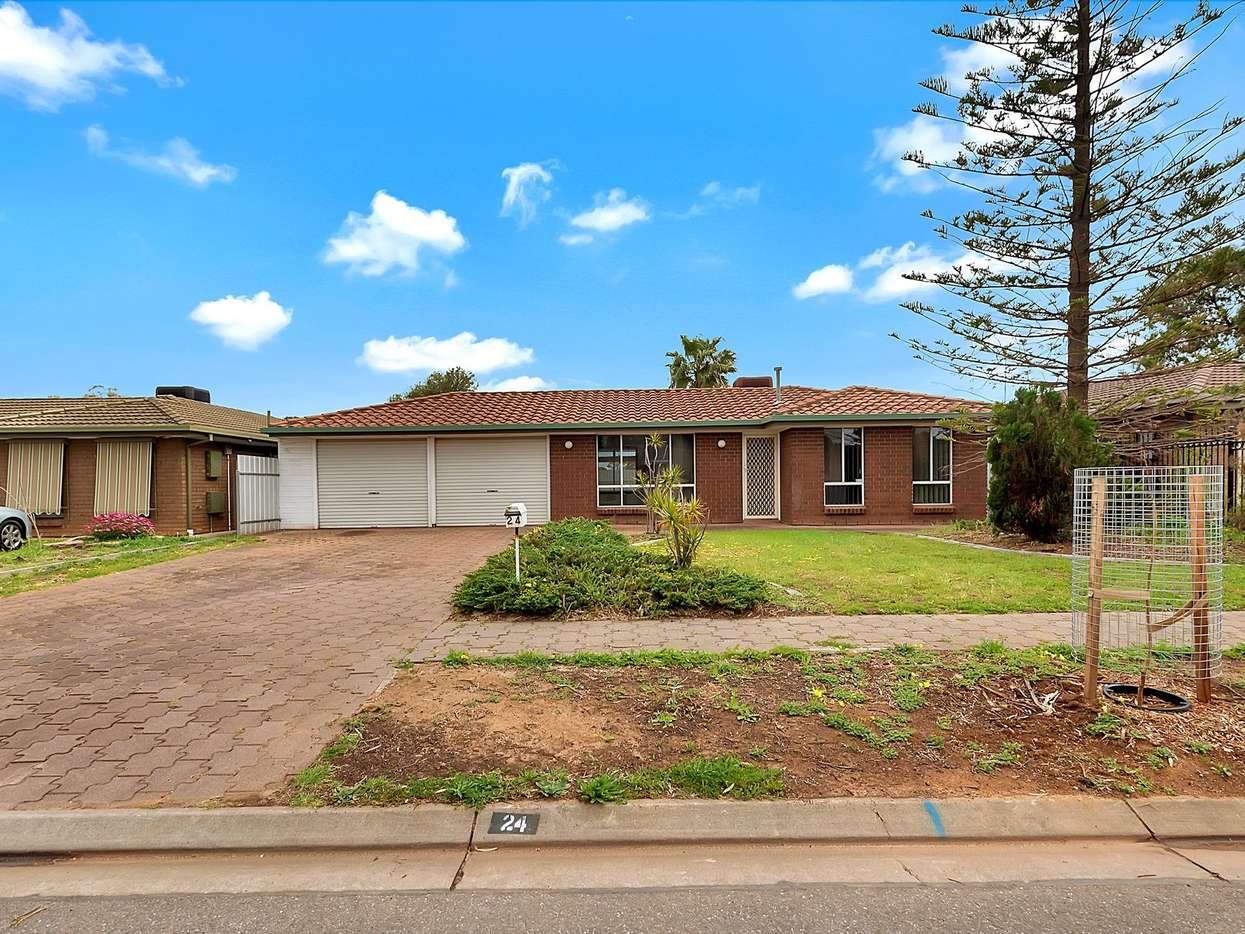 Main view of Homely house listing, 24 Reynolds Drive, Paralowie, SA 5108