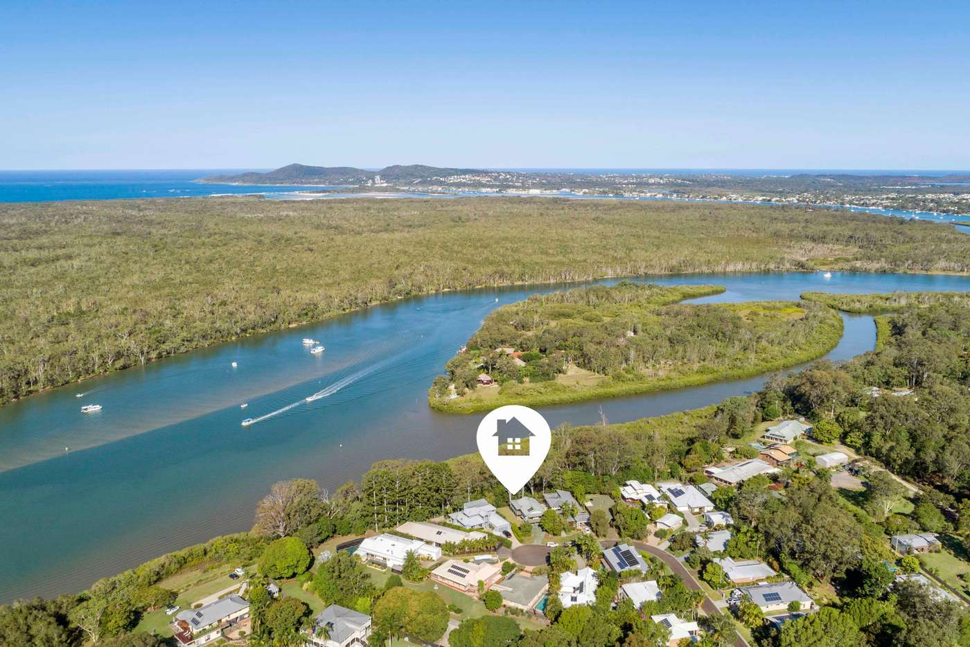 Main view of Homely house listing, 18 Cambridge Court, Tewantin QLD 4565