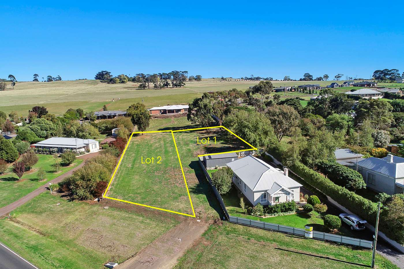 Main view of Homely  listing, Lot 1 or 2 140 Camperdown-Cobden Road, Camperdown, VIC 3260