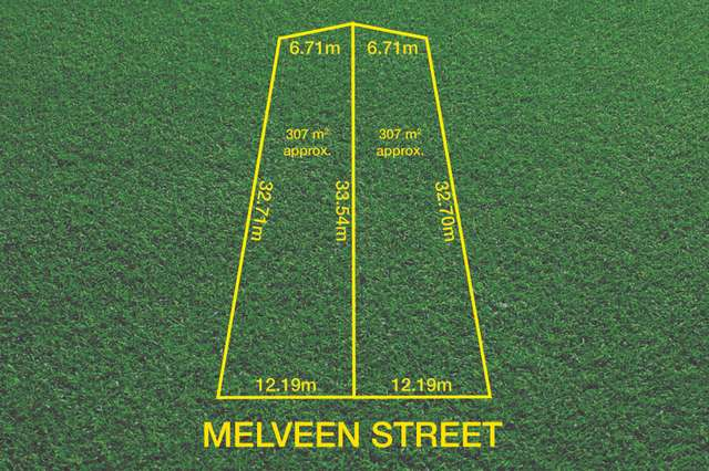 Lot 1 & 2/7 Melveen Street, Modbury SA 5092