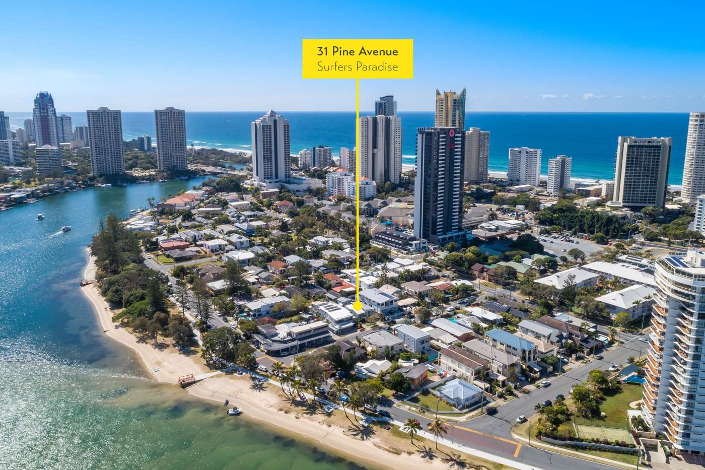 Main view of Homely house listing, 31 Pine Avenue, Surfers Paradise, QLD 4217