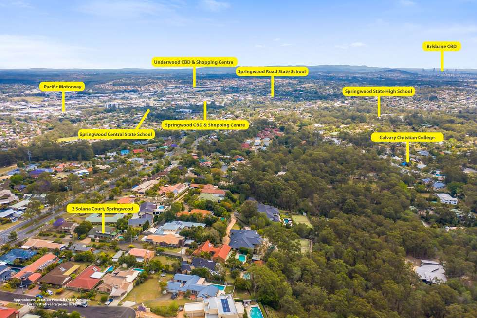 Fifth view of Homely house listing, 2 Solana Ct (Private Court Off 350 Springwood Rd), Springwood QLD 4127