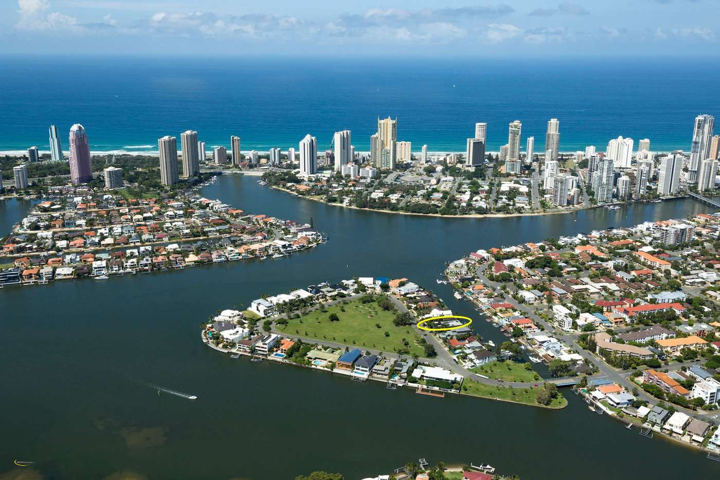 Main view of Homely house listing, 35 Southern Cross Drive, CRONIN ISLAND, Surfers Paradise, QLD 4217