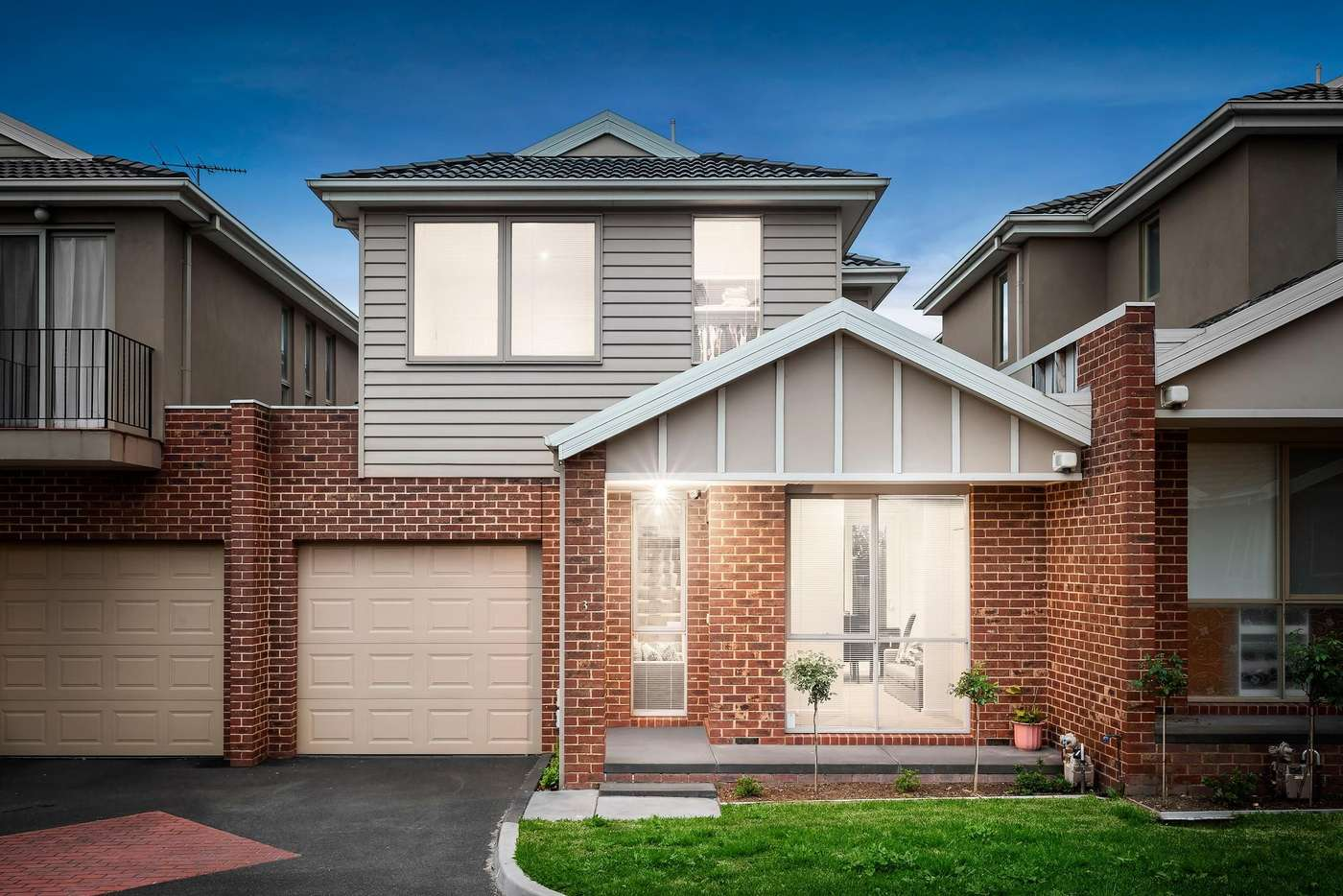 Main view of Homely townhouse listing, 3/4-6 Keogh Street, Burwood VIC 3125