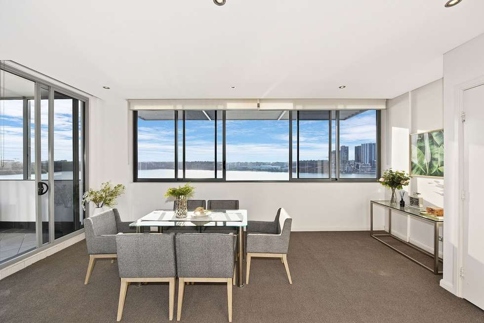 Second view of Homely apartment listing, 1055/6 Mary Street, Rhodes NSW 2138