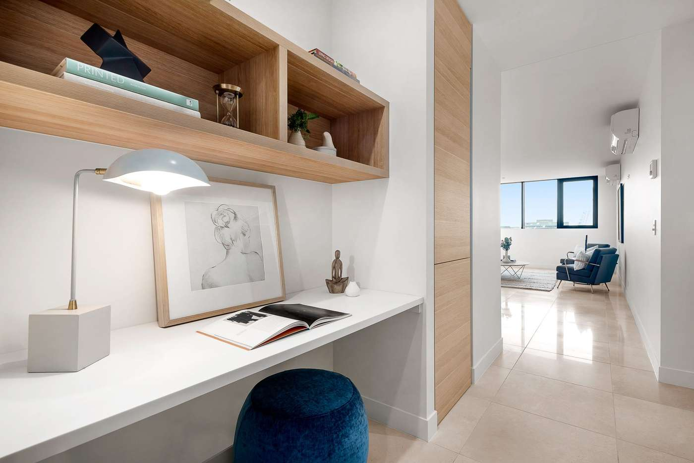 Main view of Homely apartment listing, 1806/12 Queens Road, Melbourne VIC 3004