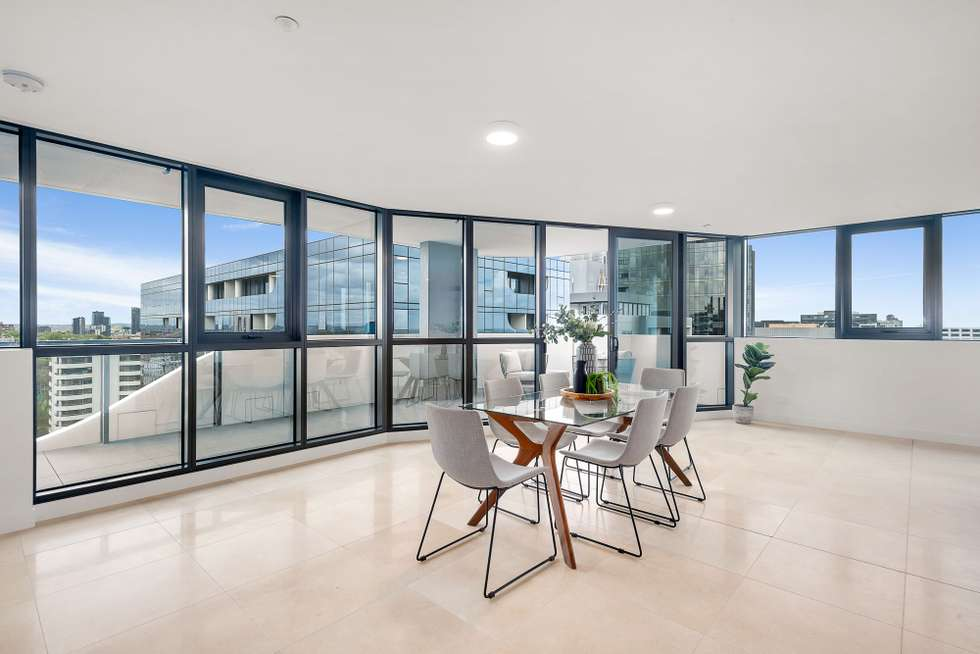 Second view of Homely apartment listing, 1806/12 Queens Road, Melbourne VIC 3004