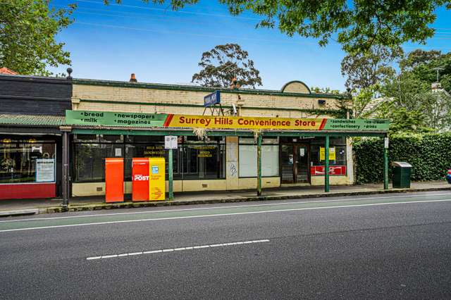 217-219 Mont Albert Road, Surrey Hills VIC 3127