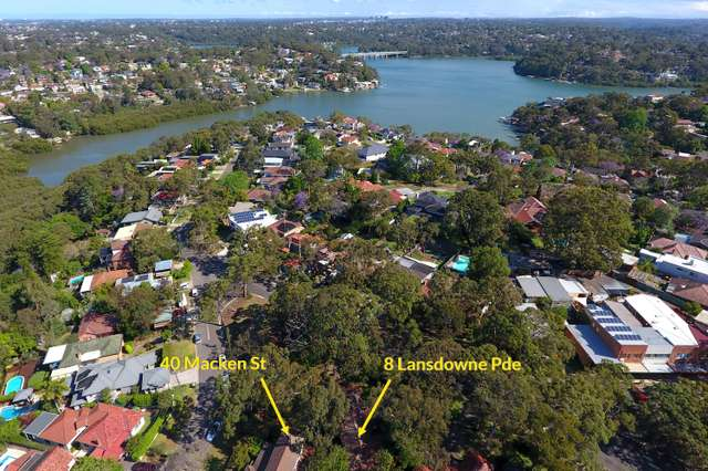 8 Lansdowne Parade (and 40 Macken Street), Oatley NSW 2223