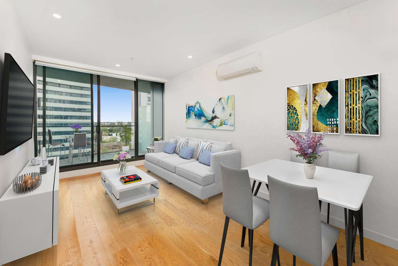 Main view of Homely apartment listing, 1407/35 Albert Road, Melbourne, VIC 3000