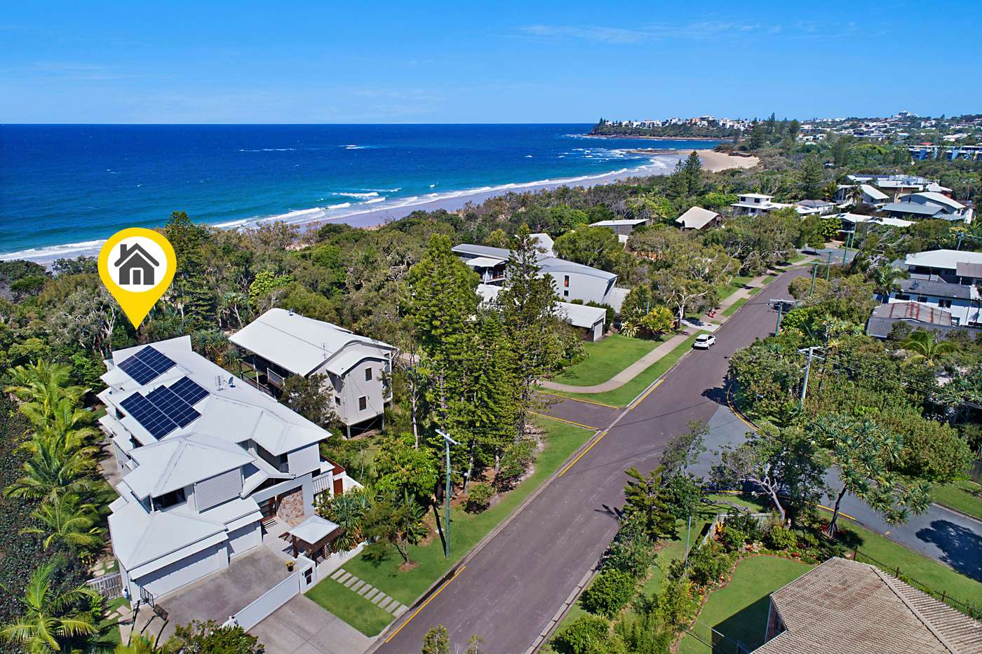 Main view of Homely house listing, 1 Ngungun Street, Dicky Beach, QLD 4551