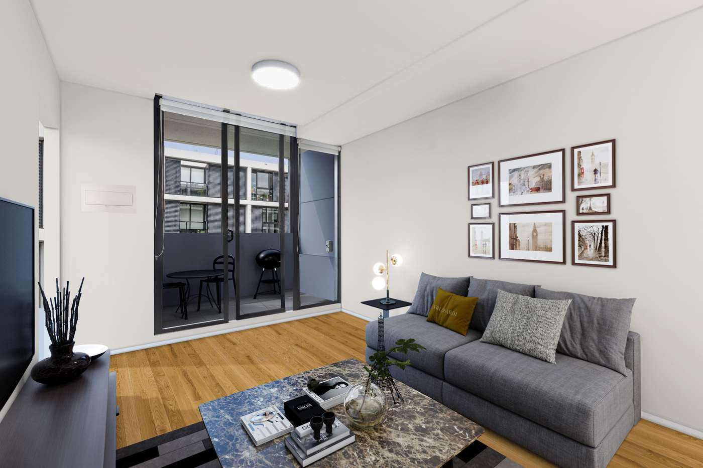 Main view of Homely apartment listing, B406/8 Grosvenor Street, Abbotsford, VIC 3067