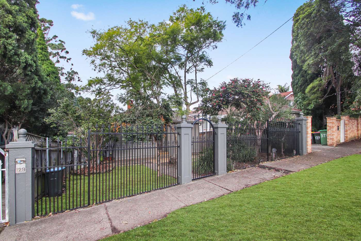 Main view of Homely semidetached listing, 129 Pittwater Road, Hunters Hill, NSW 2110