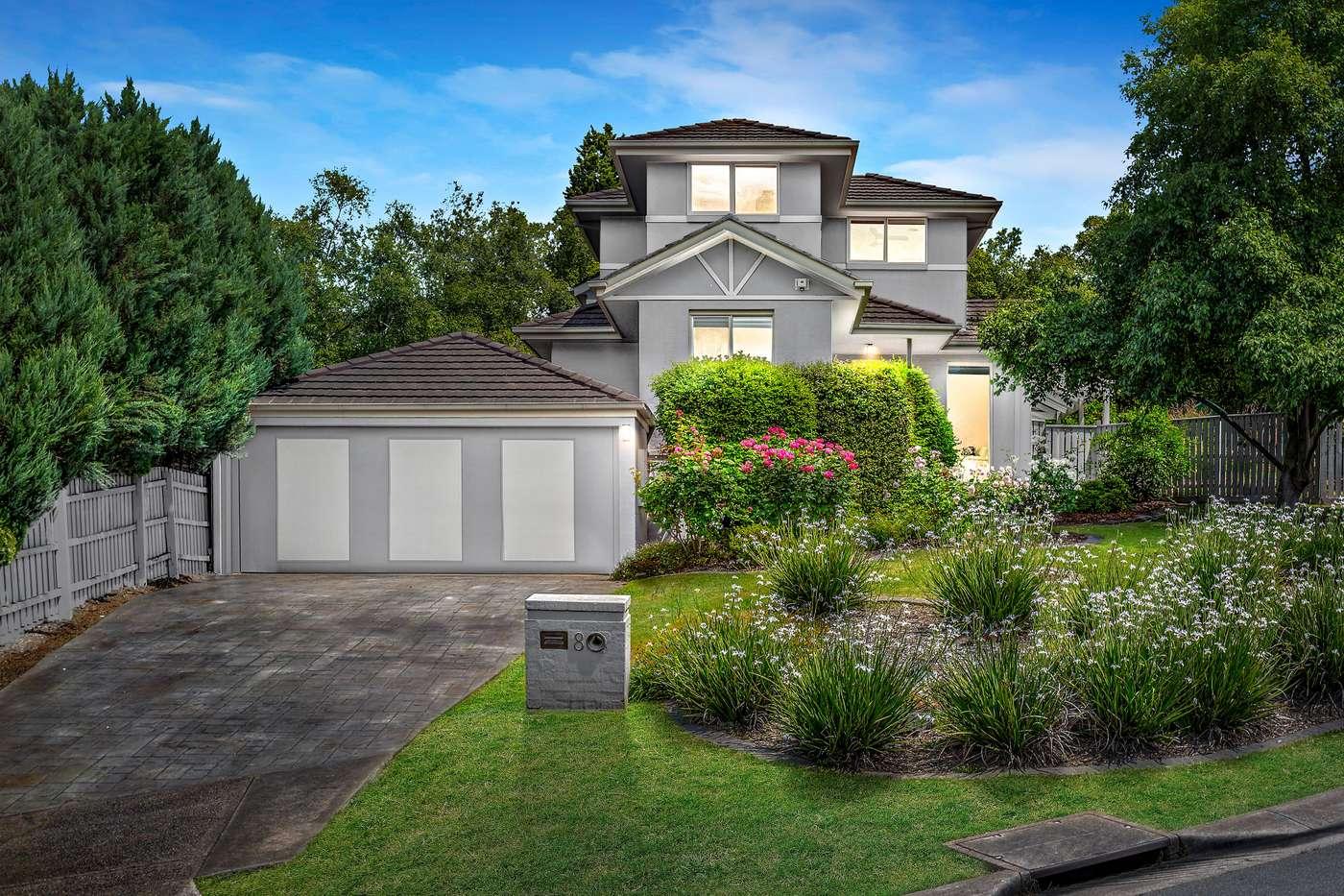Main view of Homely house listing, 8 Arthur Streeton Place, Diamond Creek, VIC 3089