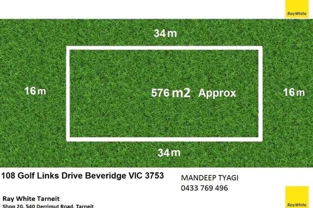 108 Golf Links Drive, Beveridge VIC 3753